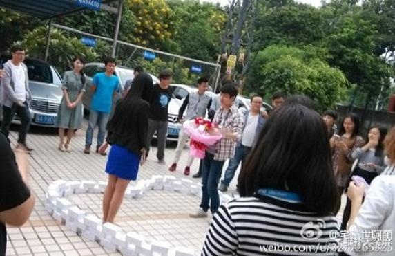 99 iPhone не помогли китайскому программисту завоевать сердце девушки