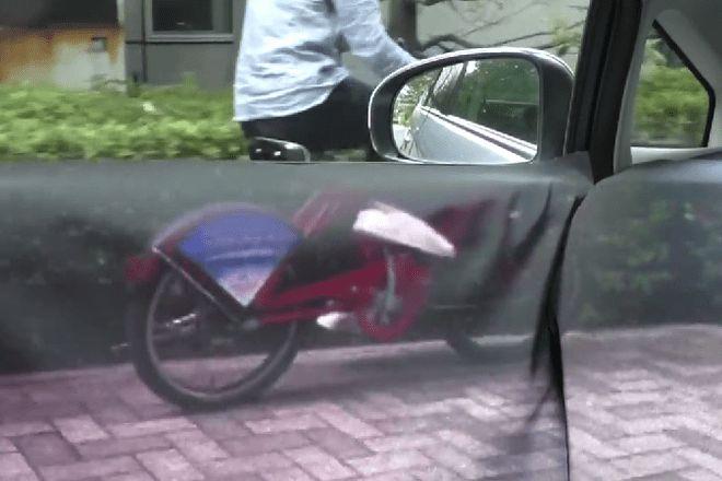 Японцы представили прозрачный автомобиль