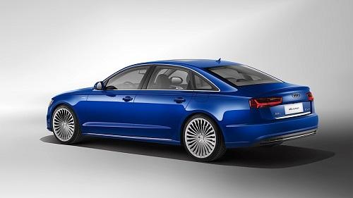 Audi разработала специально для китайцев удлиненный гибрид A6