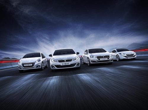 Peugeot презентовала вариант Line GT для ряда моделей