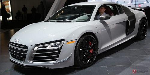 Представлено люксовое купе Audi R8