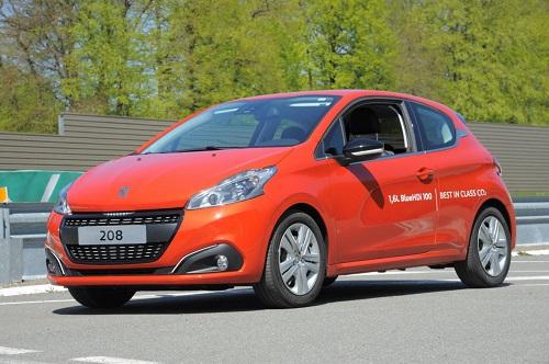 Хэтчбек Peugeot 208 смог установить рекорд экономичности