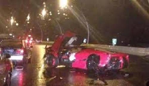 В Китае был разбит спорткар LaFerrari ценой в 1 миллион долларов