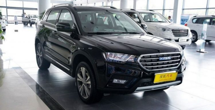 Китайский автомобилестроитель Great Wall начал продажи кроссовера Haval H6 Coupe