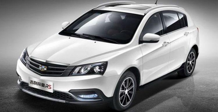 Автомобилестроитель Geely объявил появление хэтчбека Geely Emgrand RS
