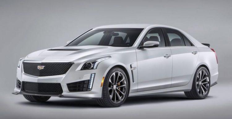 Cadillac этой осенью начнет продажи «заряженной» четырехдверки CTS-V