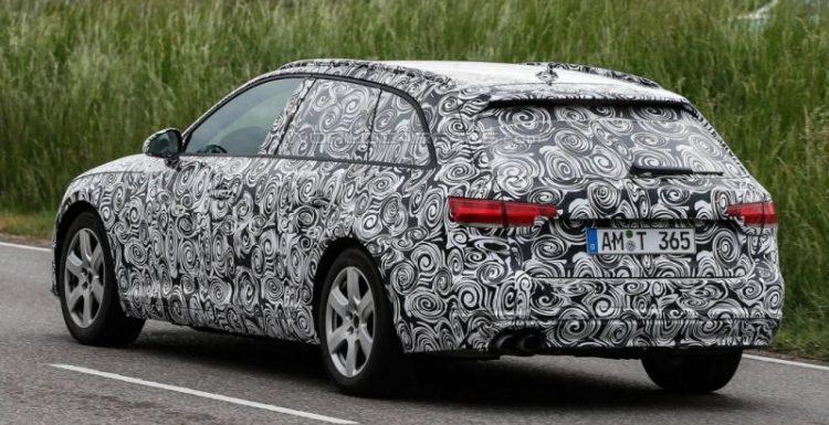 Audi проводит испытания прототипа A4 Avant