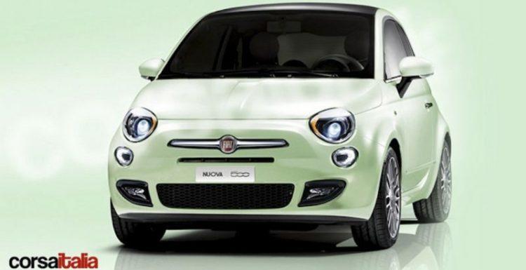Мировая премьера обновленной версии Fiat 500 состоится 11 июля нынешнего года