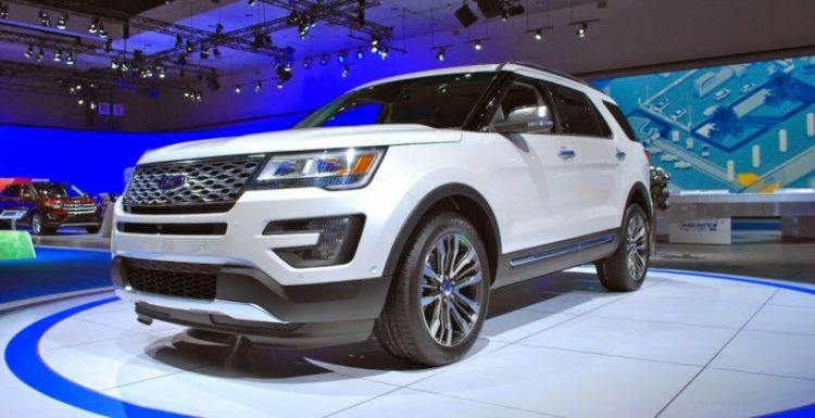 Новый Ford Explorer был замечен на тестах в Татарстане