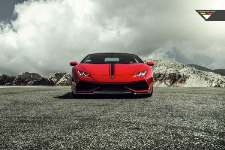Мастера Vorsteiner презентовали новый тюнинг пакет для Lamborghini Huracan