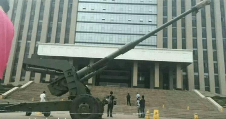 Китайские ученые презентовали самую большую танковую пушку