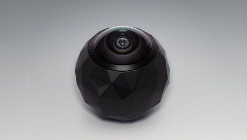Представлена доступная камера для съемок сферического видео на 360 градусов
