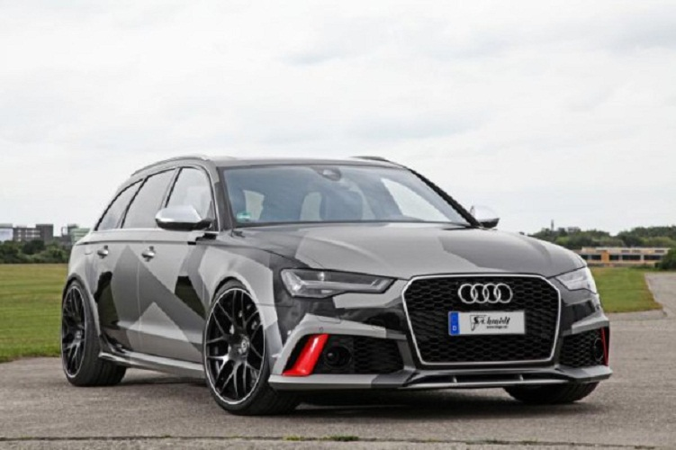 Немецкие тюнеры Schmidt Revolution добавили «лошадок» Audi RS6 Avant