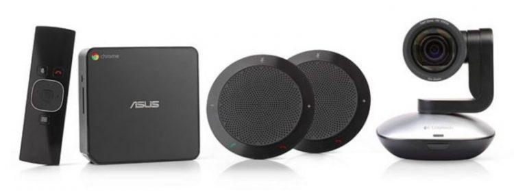 Компания Google представила обновленную версию системы Chromebox for meetings