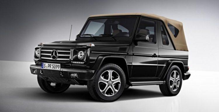 Автопроизводитель Mercedes-Benz планирует выпустить внедорожник-кабриолет