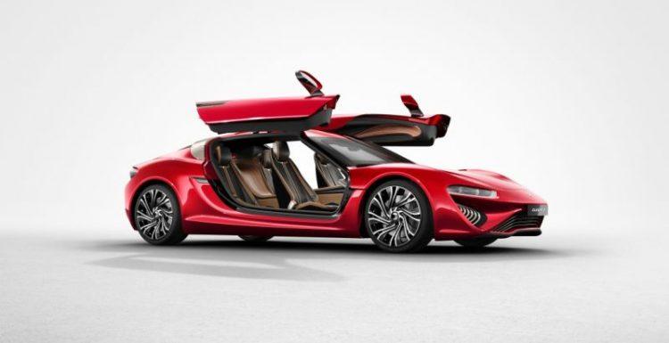 NanoFlowcell презентовал автомобиль с альтернативным видом источника энергии
