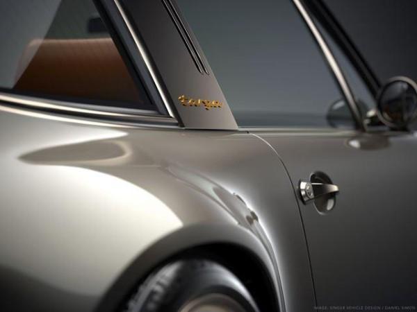 Singer Vehicle Design представили фото модифицированной версии Porsche 911 Targa