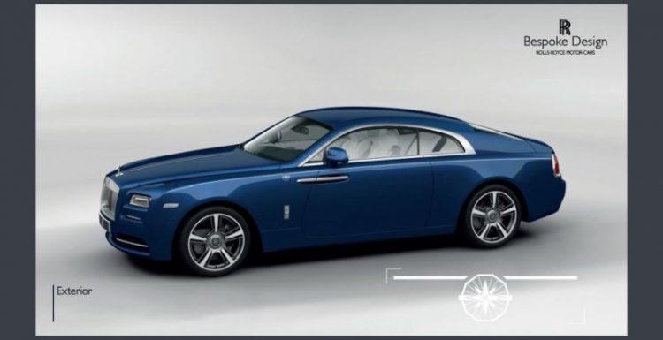 Rolls-Royce Motor Cars презентовал специальное издание Rolls-Royce Wraith Porto Cervo