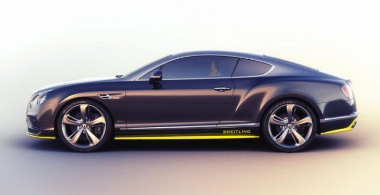 Купе Bentley Continental GT представили в лимитированной версии Speed Breitling Jet Team Series