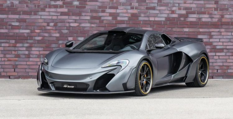 Ателье FAB Design поработал над McLaren 650S