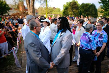 В США однополые браки теперь легализованы на всей территории