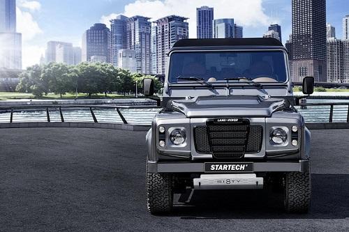 К 68-летию Land Rover Defender подготовлен особый внедорожник