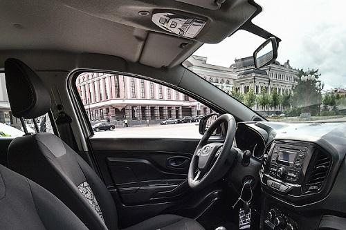 Интерьер Lada XRay рассекречен