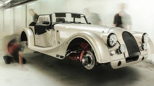 Morgan отметил 65-летие модели Plus 4 особым спорткаром