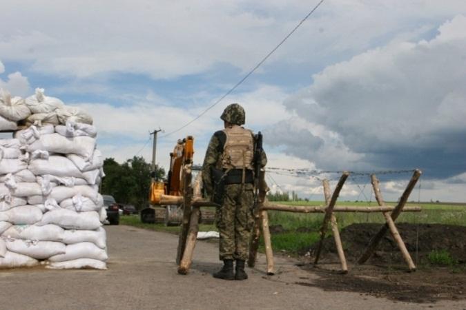 СБУ арестовала пограничника-взяточника на блокпосту в районе проведения АТО
