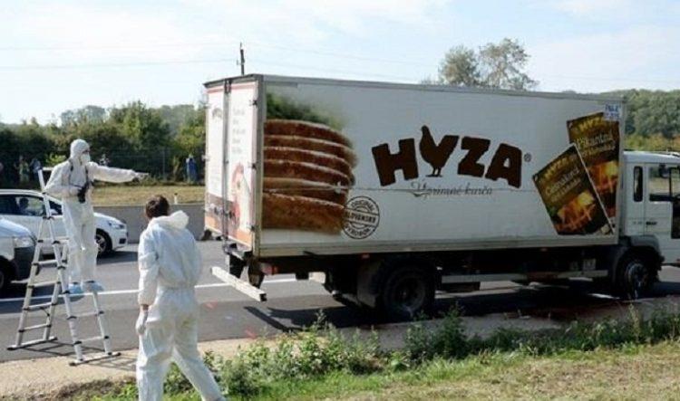 Австрийская полиция обнаружила очередной фургон с нелегалами