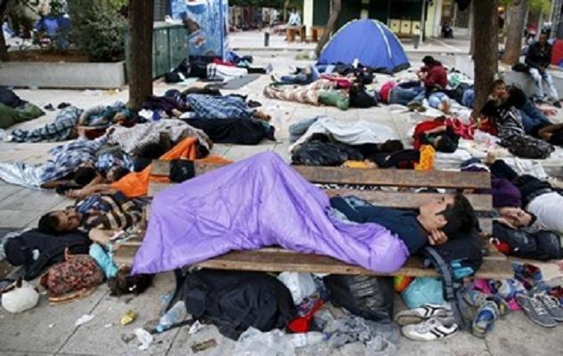 Совет ЕС намерен распределить 40 тысяч беженцев из Греции и Италии по другим странам Евросоюза