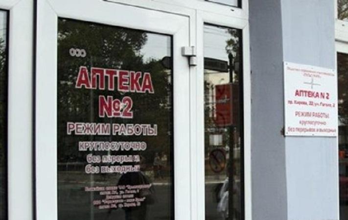 На территории Крыма запретили аптекам распространять спирт