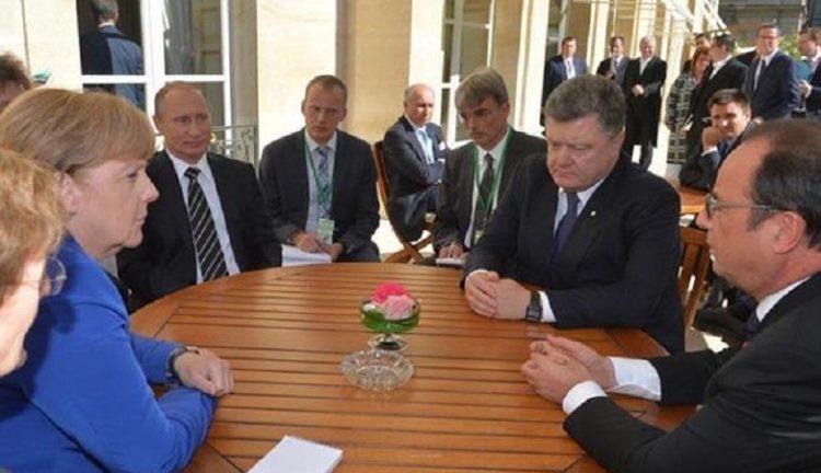На Встрече в Париже пришли к общему решению об особом статусе Донбасса