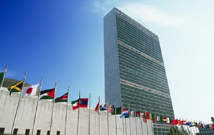 Генассамблея ООН приняла решение добавить к национальным флагам у входа в штаб-квартиру флаг Палестинской автономии