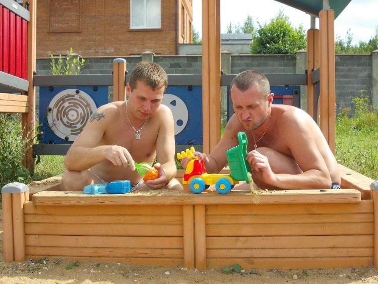 33 доказательства того, что мужчины - это большие дети