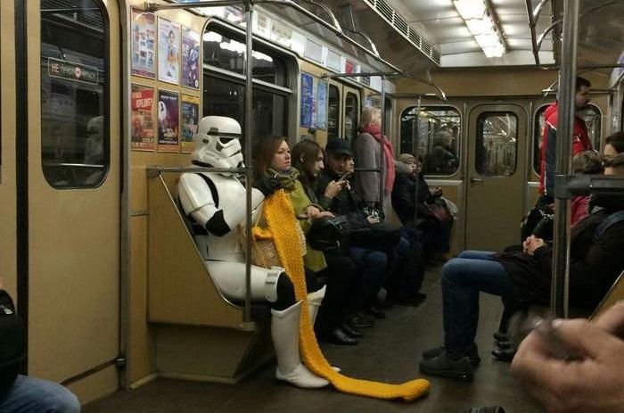 Чудики в метро или 45 звёзд метрополитена