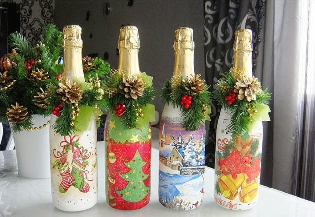 Эксклюзивные поделки из пустых бутылок: 20 фото
