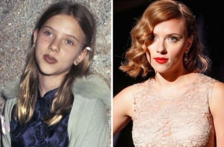 30 звезд Голливуда в детстве и сейчас