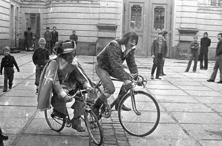 Редкие кадры со съемок советских кинофильмов
