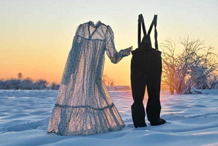 Собачий холод: 30 наглядных примеров того, что значит настоящая минусовая температура