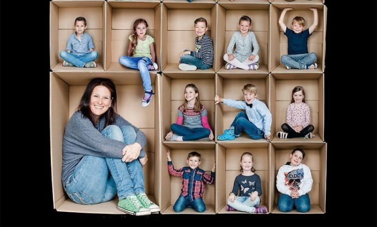 30 креативных семейных фотографий