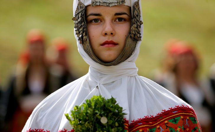 Национальные свадебные наряды молодоженов со всего мира