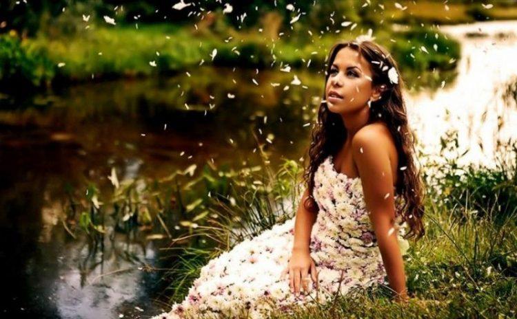 Красота спасет мир: фото симпатичных девушек на природе