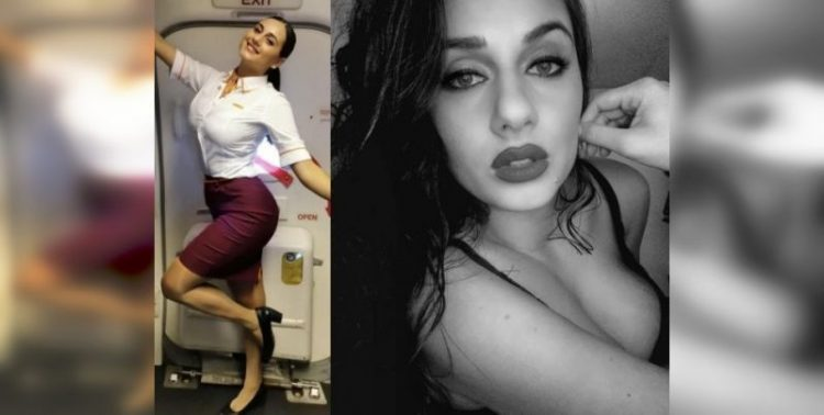 Красотки-стюардессы на работе и в соцсетях